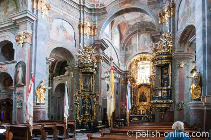 In der Piaristenkirche Chełm