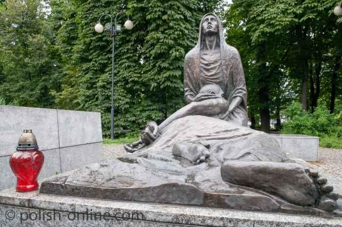Denkmal für die Opfer von Katyn
