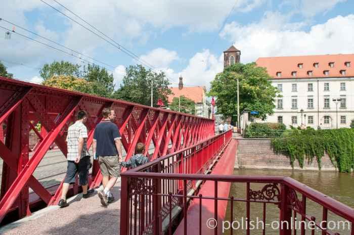 Piastenbrücke Breslau (Wrocław)