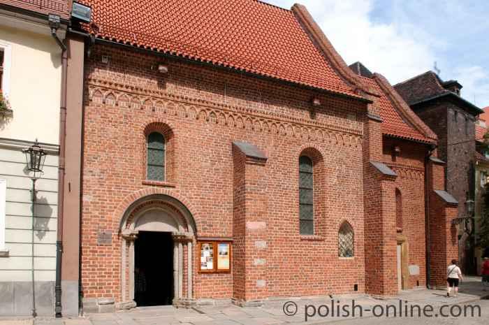 Portal der Kirche St. Ägidius Breslau (Wrocław)