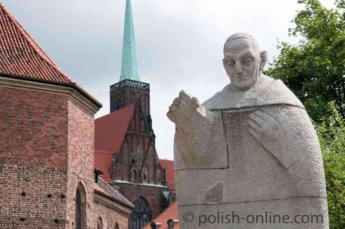 Denkmal für Papst Johannes XXIII. Breslau (Wrocław)