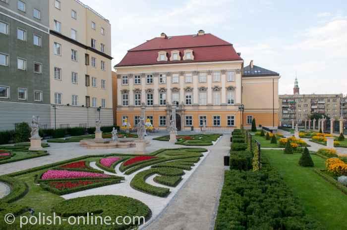 Park des Königsschlosses Breslau (Wrocław)