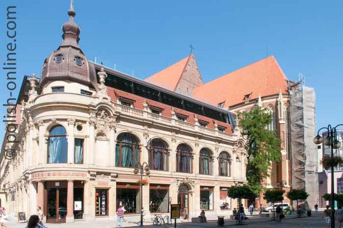 Früheres Gebäude des Schlesischen Bankvereins