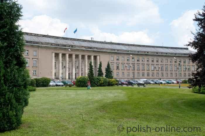 Foto von der Woiewodschaftsverwaltung Breslau (Wrocław)