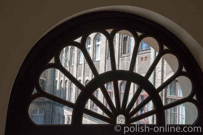Rosettenfenster Synagoge Breslau