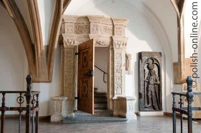 Portal im Rathaus von Breslau