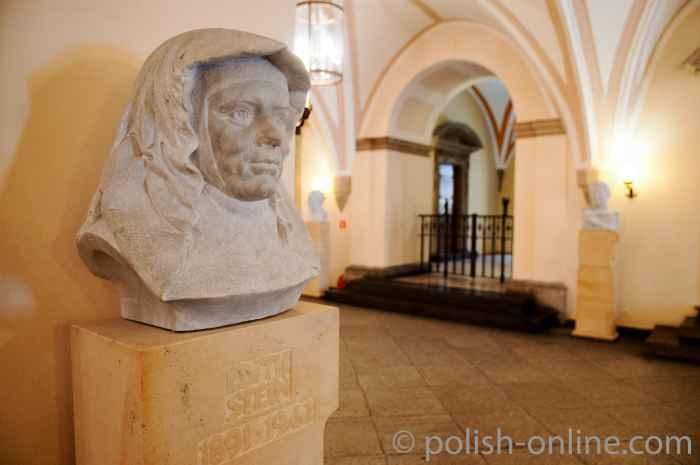 Büste von Edith Stein Breslauer Rathaus