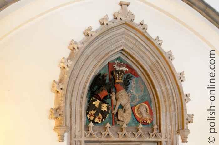 Portal im Breslauer Rathaus
