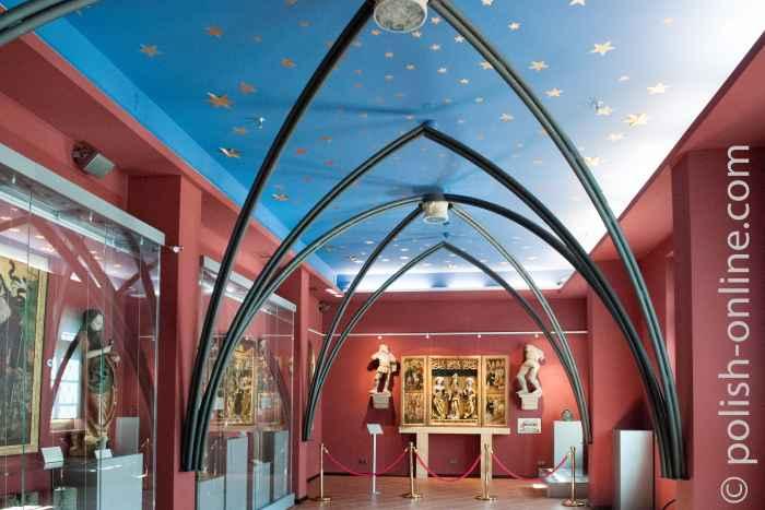 Ausstellungsraum im Königsschloss Breslau (Wrocław)