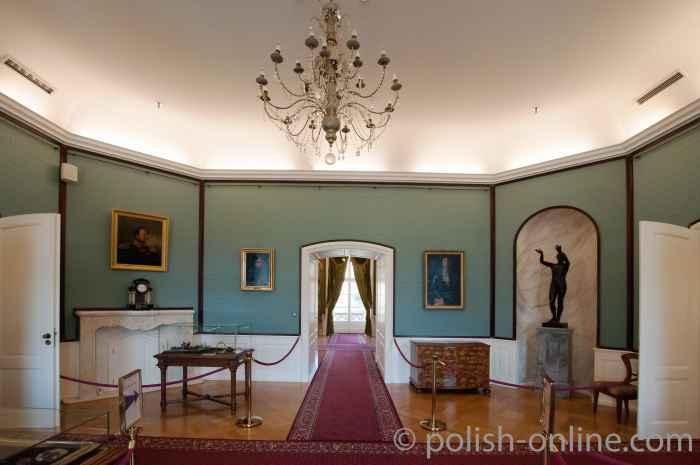 Staatsgemach im Königsschloss Breslau (Wrocław)
