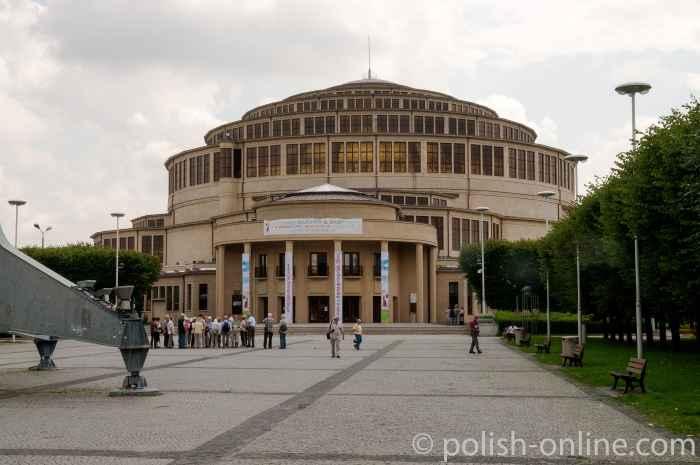 Jahrhunderthalle Hala Ludowa in Breslau (Wrocław)