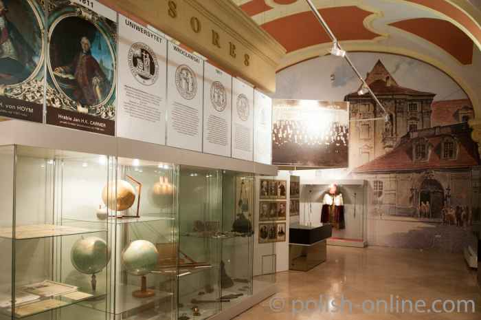 Ausstellung über die Geschichte der Breslauer Universität