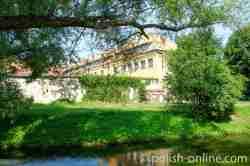 Sommerliche Idylle in Angerburg (Węgorzewo)