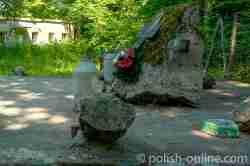 Denkmal für gefallene polnische Pioniere Wolfsschanze