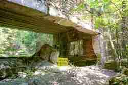 Ruinen einer Sauna in der Wolfsschanze