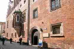 Eingang zum Collegium Maius der Jagiellonen-Universität Krakau