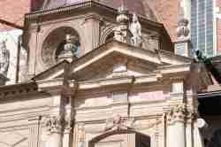 Fragment des Portals zur Wawel-Kathedrale in Krakau