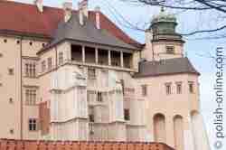 Hennenfüßchen Königsschloss in Krakau (Kraków)
