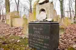 Deutsche Grabinschrift Neuer jüdischer Friedhof in Krakau