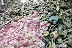 Schuhe von Häftlingen des KZ Auschwitz