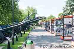 Freiluftausstellung des Waffenmuseum Kolberg (Kołobrzeg)