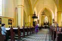 Kirchenschiff der St.-Adalbert-Kirche in Sensburg (Mrągowo)