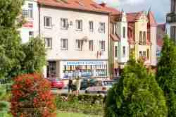 Marktplatz in Sensburg (Mrągowo)