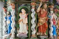Kanzel Kirche in Sorquitten Ermland und Masuren