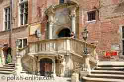 Eingang zum Danziger Rathaus