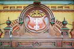 Danziger Wappen an der Markthalle