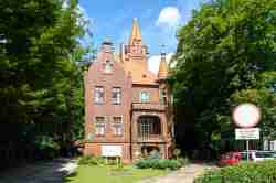 Villa Schrey in Danzig Jäschkental