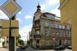 Wohnhaus der Familie Grass in Danzig Langfuhr