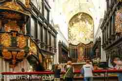 Chroraum mit Hochaltar in der Kathedrale Oliva