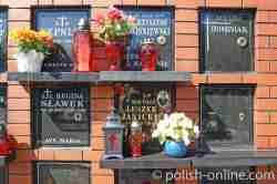 Gräber auf Marinefriedhof Gdingen