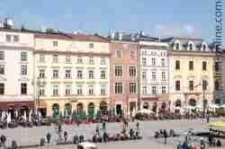 Rynek Główny in Krakau (Kraków)