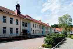 Das ehemalige Militärkrankenhaus in Groß Born (Borne Sulinowo)