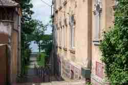Treppe zum Drawsko-See