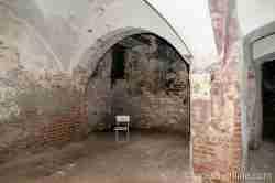Schlossküche im Keller des Schlosses in Heinrichsdorf