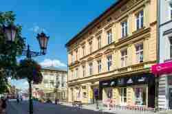 Bürgerhäuser in Neustettin (Szczecinek)