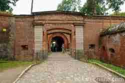 Eingang zur Festung Boyen Ermland und Masuren