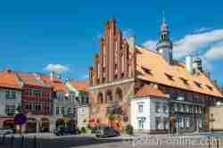 Rathaus von Wormditt (Orneta)