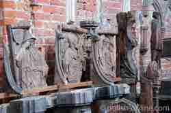Kirchengestühl in der Marienburg (Polen)