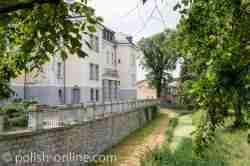 Rückseite Schloss Gutshof Kreisau