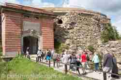 Adlertor Festung Silberberg (Twierdza Srebrnogórska)
