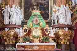 Gnadenbild der Mutter Gottes im Kloster Grüssau