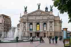 Oper am Swoboda-Prospekt in Lemberg