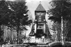 Kapelle auf dem Soldatenfriedhof Nr. 123 Łużna-Pustki