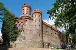 Schlossturm in Kamenz (Kamieniec Ząbkowicki)
