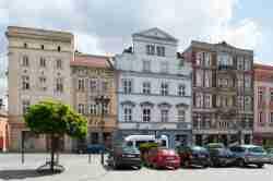 Bürgerhäuser auf dem Markt von Frankenstein (Ząbkowice Śląskie)