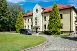 Museumsgebäude in Lamsdorf (Łambinowice)